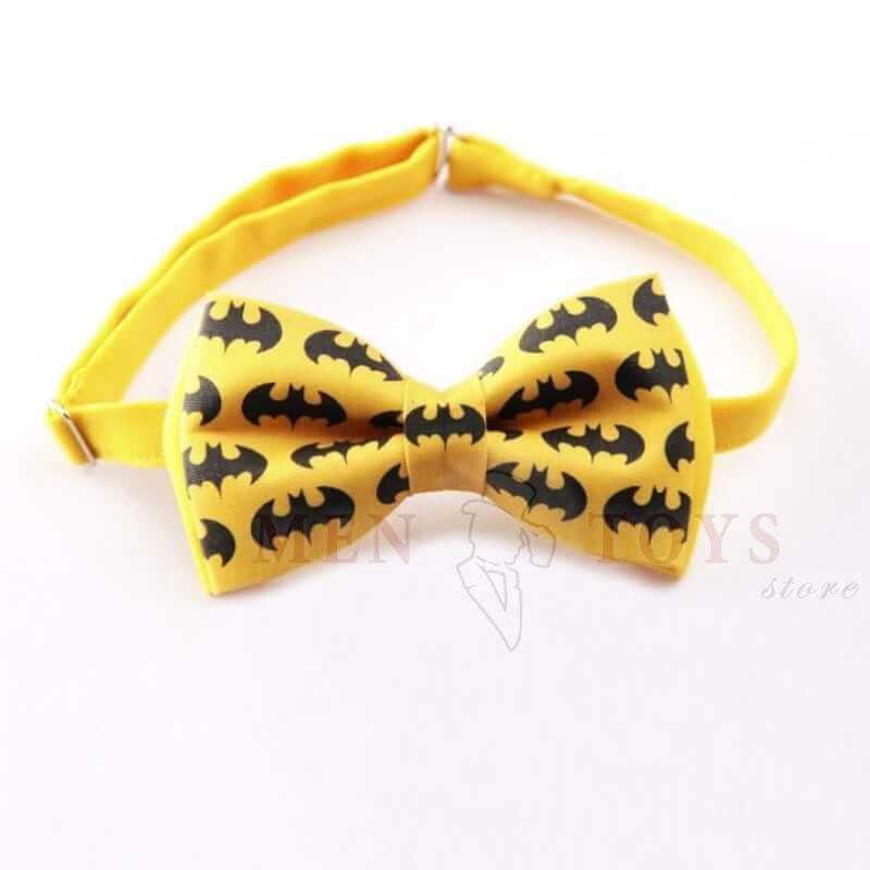 галстук-бабочка бетмен