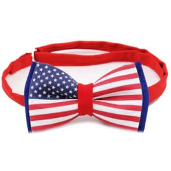 Бобочка с флагом USA