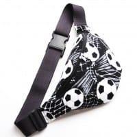 Футбольная поясная сумка