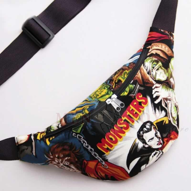 оригинальная мультяшная сумка на пояс