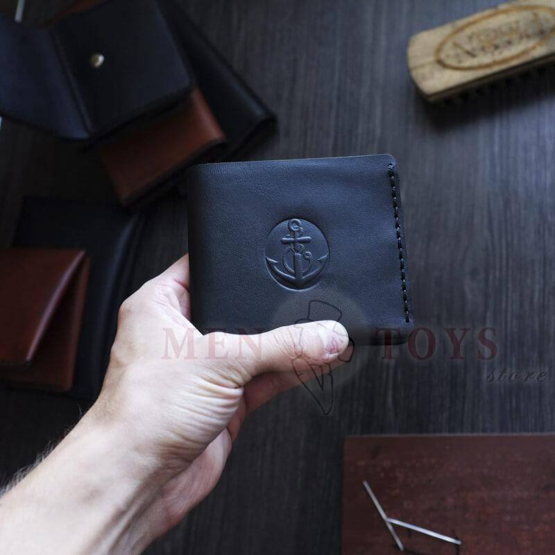 кошелек ручной работы с отделениями
