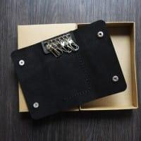 Кожаная ключница, чехол для ключей в комплекте со скидкой