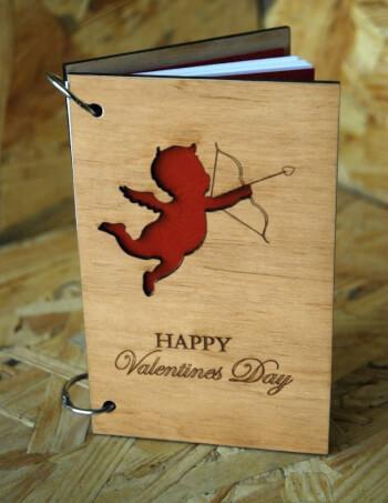Блокноты ручной работы Святой Валентин