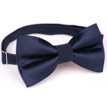 Темная галстук-бабочка