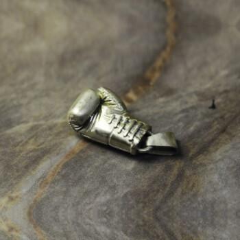 "Кулон ""Боксерская перчатка"" из серебра"