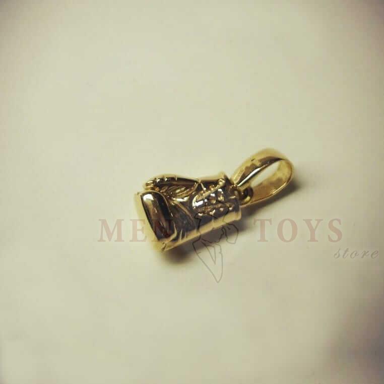 кулон боксерская перчатка из золота 585 пробы