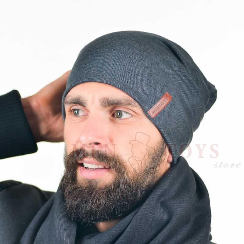 Серая мужская шапка в Киеве, Днепропетровске, Харькове, Одессе