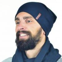 Темная шапка для мужчин