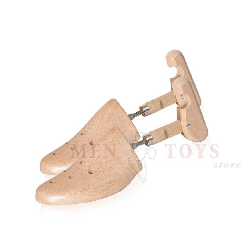 деревянная колодка для обуви с вентиляцией