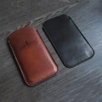 Чехол для телефона из натуральной кожи в комплекте со скидкой