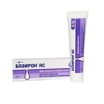 Базирон АС 5%, 40 гр.