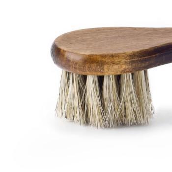 Обувная щетка для нанесения пасты из натурального конского волоса