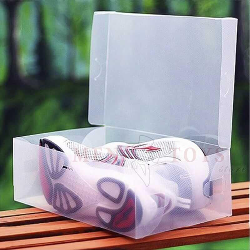 пластиковый контейнер коробка для хранения обуви