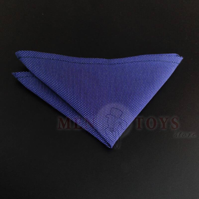 синий нагрдуный платок паше в мелкий горох