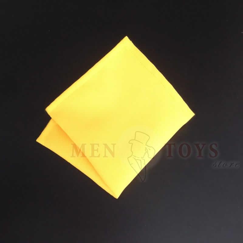 желтый нагрудный платок для пиджака