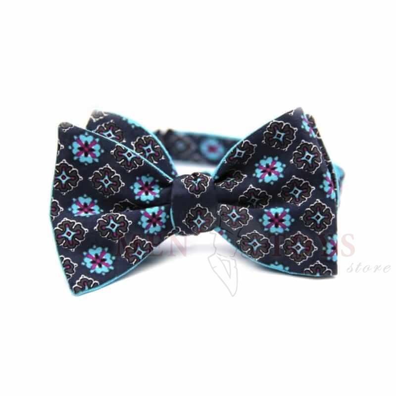 галстук бабочка самовяз двусторонняя