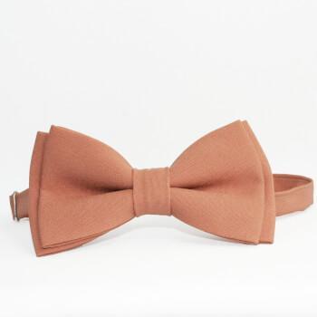 Светло-коричневая галстук-бабочка