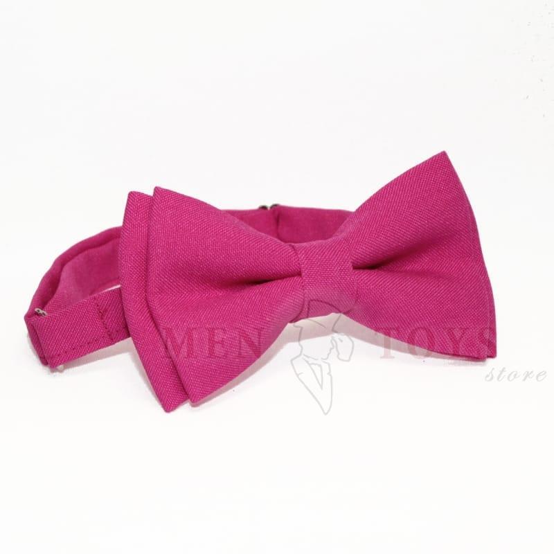 галстук-бабочка розового цвета