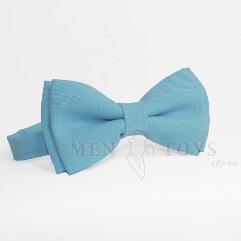 галстук-бабочка грязно-голубого цвета