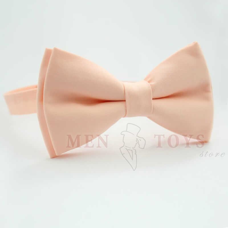 светло-персиковая галстук бабочка