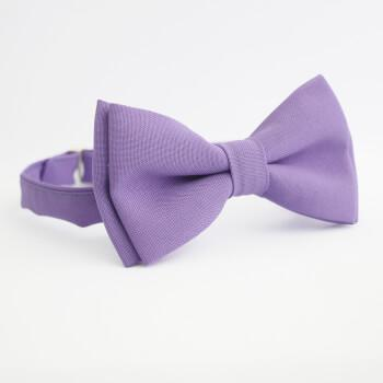Сиреневая галстук-бабочка