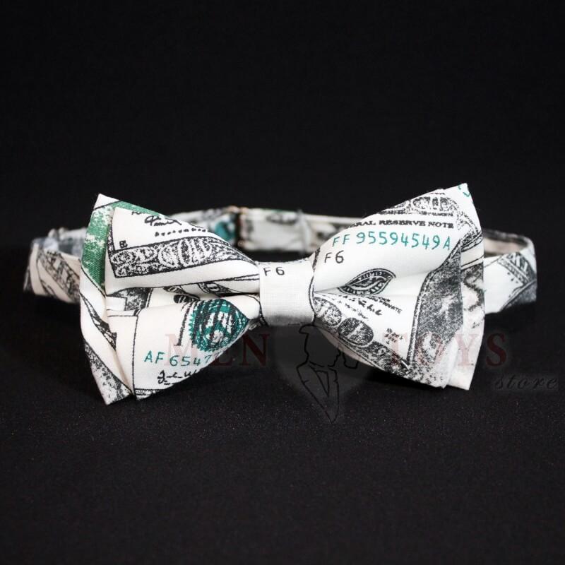галстук бабочка доллар