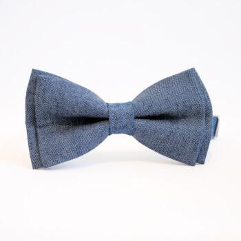 Джинсовая галстук бабочка