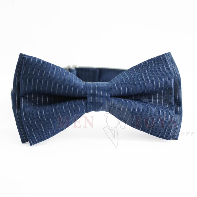 стильная полосатая галстук бабочка