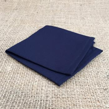 Темно-синий нагрудный платок для пиджака