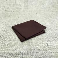 Коричневый нагрудный платок паше
