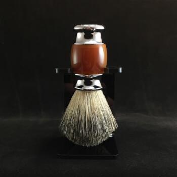 Помазок для бритья c оригинальной ручкой