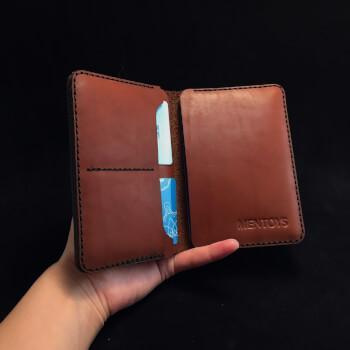 Кожаная обложка для паспорта, документов