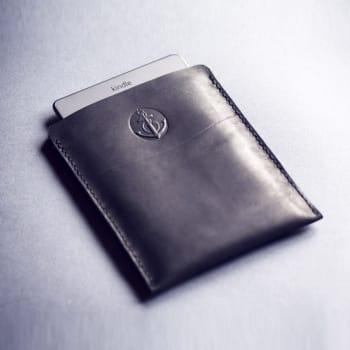 Кожаный чехол для электронной книги, планшета