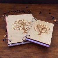 Стильный блокнот с гравировкой Древа Жизни