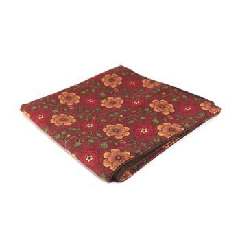 Мужской нагрудный платок с цветочным узором