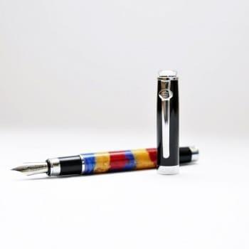 Перьевая ручка мультиколор