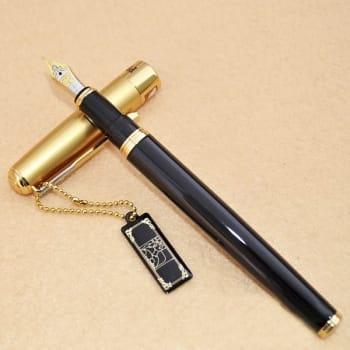 Перьевая ручка с позолоченным пером