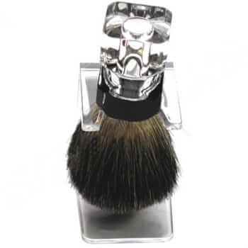 Помазок для бритья (барсук) прозрачный