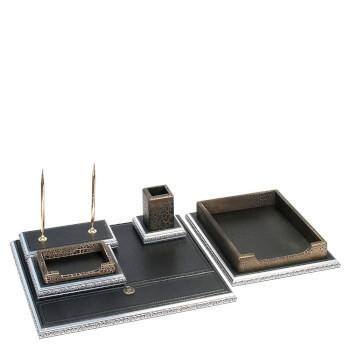 Настольный набор для офиса c багетной рамкой