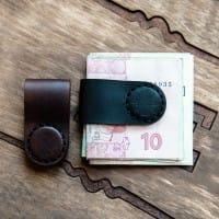 Зажим для денег, наушников на магнитах в комплекте со скидкой