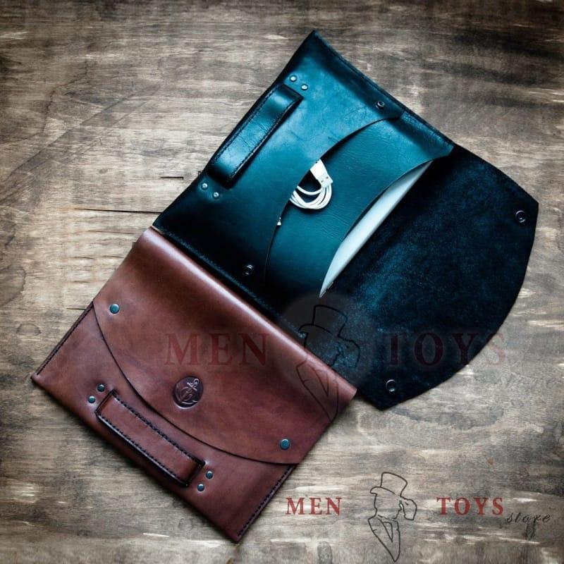 кожаная сумка для документов / планшета