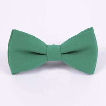 Галстук-бабочка зеленого цвета