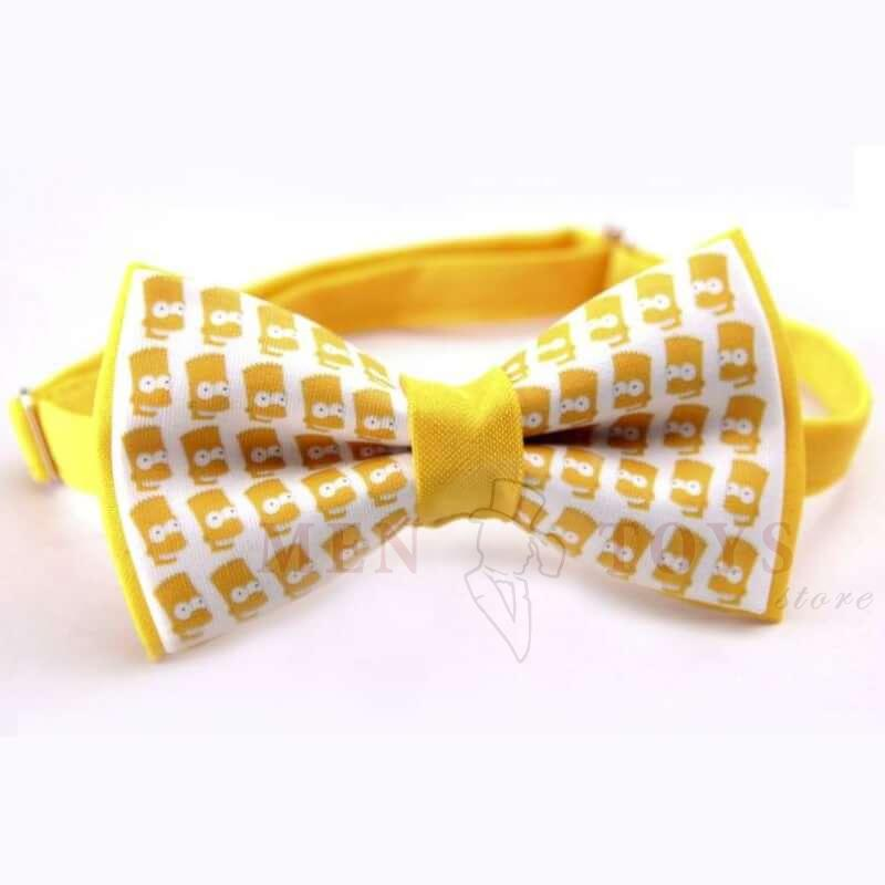 "галстук-бабочка ""симпсоны"""